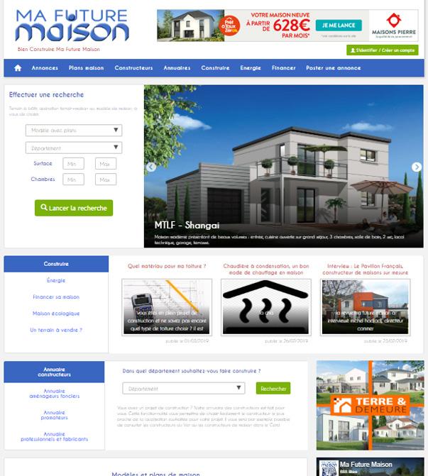 site Ma future maison