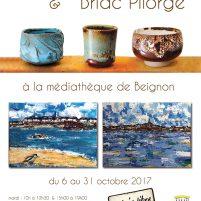 affiche expo Beignon