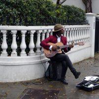 Chanteur de rue - Londres