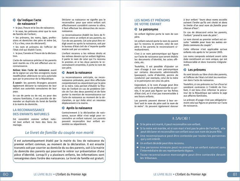 Le Livre Bleu 2021