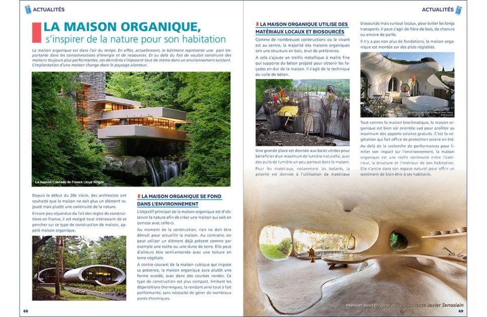 Maison organique - avril 2021